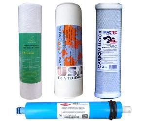 Công dụng của các lõi lọc nước trong máy lọc R.O